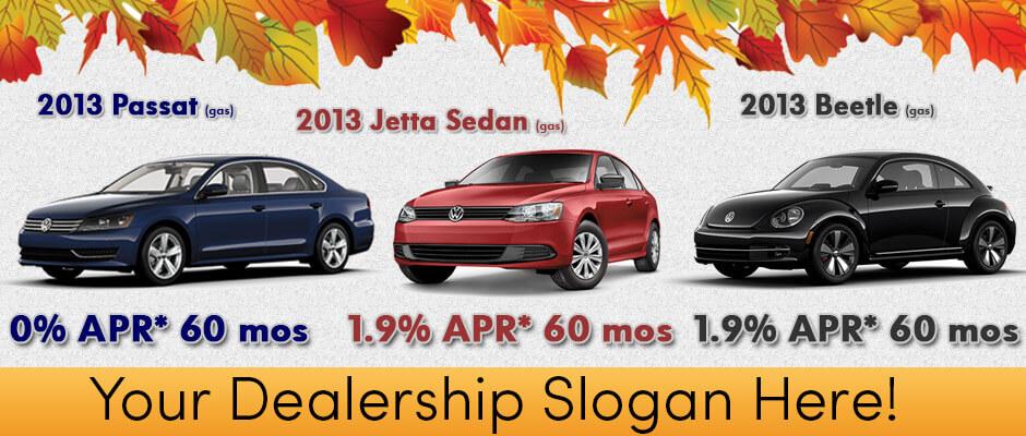 Volkswagen Example Banner